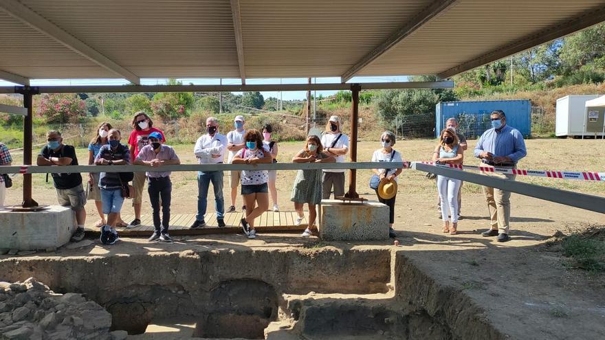 El yacimiento del Cortijo de Acebedo de Mijas abre sus puertas a visitantes por primera vez