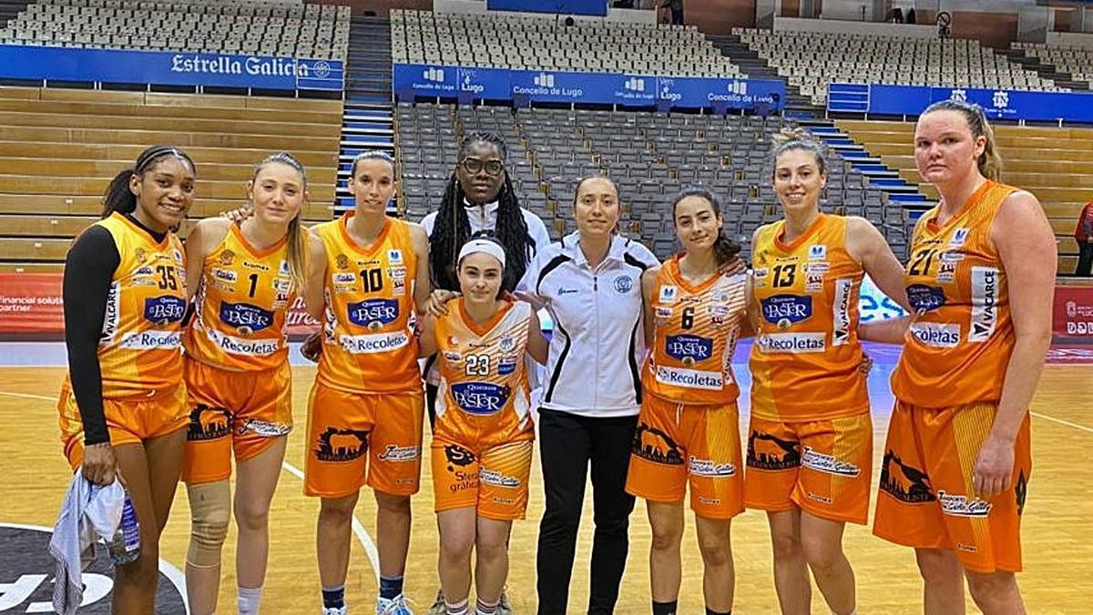 El heróico equipo naranja que afrontó las últimas jornadas de la Liga. / CDZ