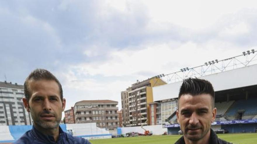 Natalio y Davo, las primeras renovaciones del club