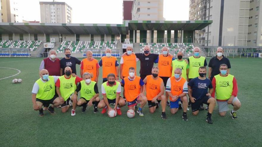 Rafael Louzán ya conoce el fútbol a pie