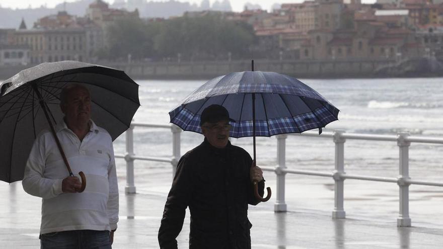 Asturias tuvo un junio menos soleado y más lluvioso de lo habitual