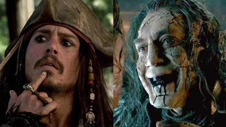 Depp i Bardem, cara a cara a la cinquena entrega de 'Pirates del Carib'
