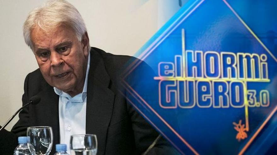 Felipe González visita esta noche 'El hormiguero' por primera vez