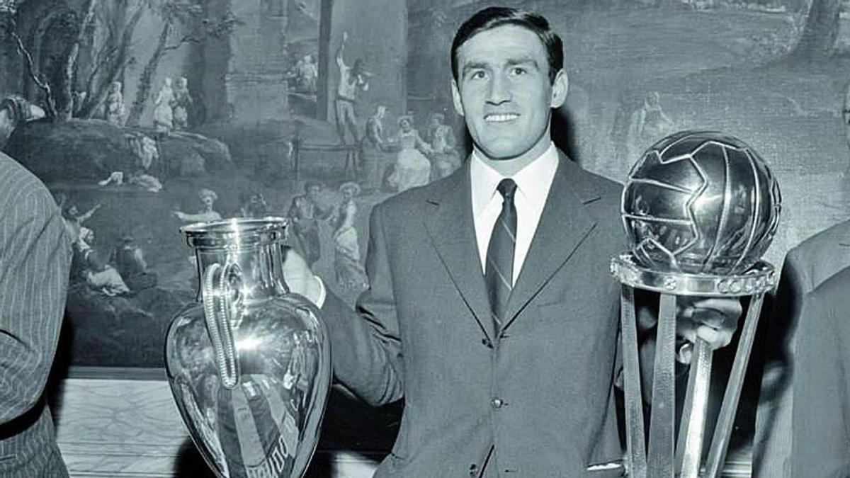 Tarsicio Burgnich, una de las estrellas del mejor Inter de Milán de la historia.