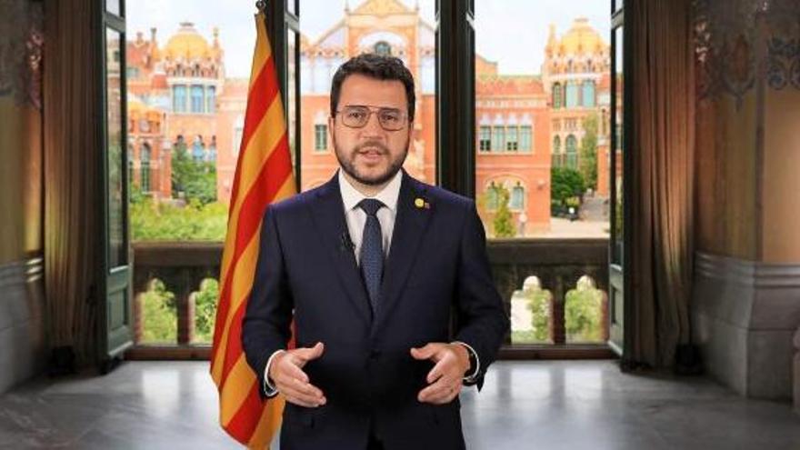 Discurs institucional per la Diada del president Pere Aragonès