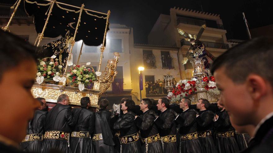 Revive el último encuentro de la Semana Santa en Sagunt.