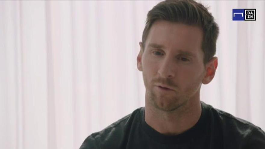 """Messi: """"Me quedo porque no quiero ir a juicio contra el club de mi vida"""""""