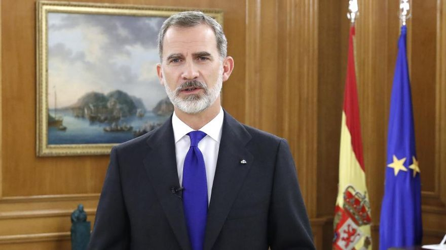 """El Rey traslada su """"cercanía y apoyo"""" a los afectados por el temporal"""