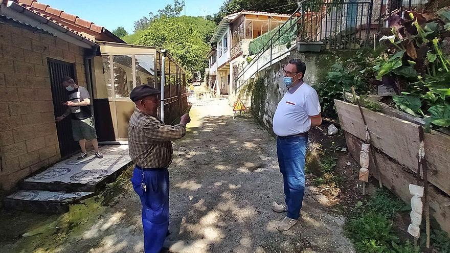 La plataforma vecinal de San Juan pide un estudio sobre las grietas de Prau Redondu