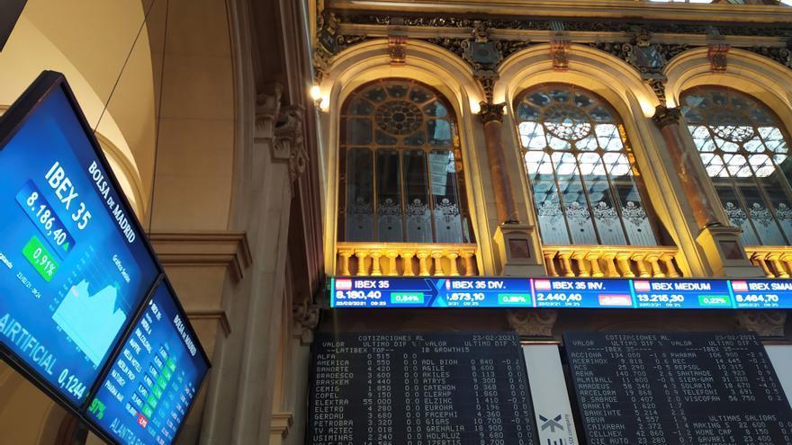 El Ibex 35 avanza un 0,21%, menos que el resto de grandes bolsas europeas