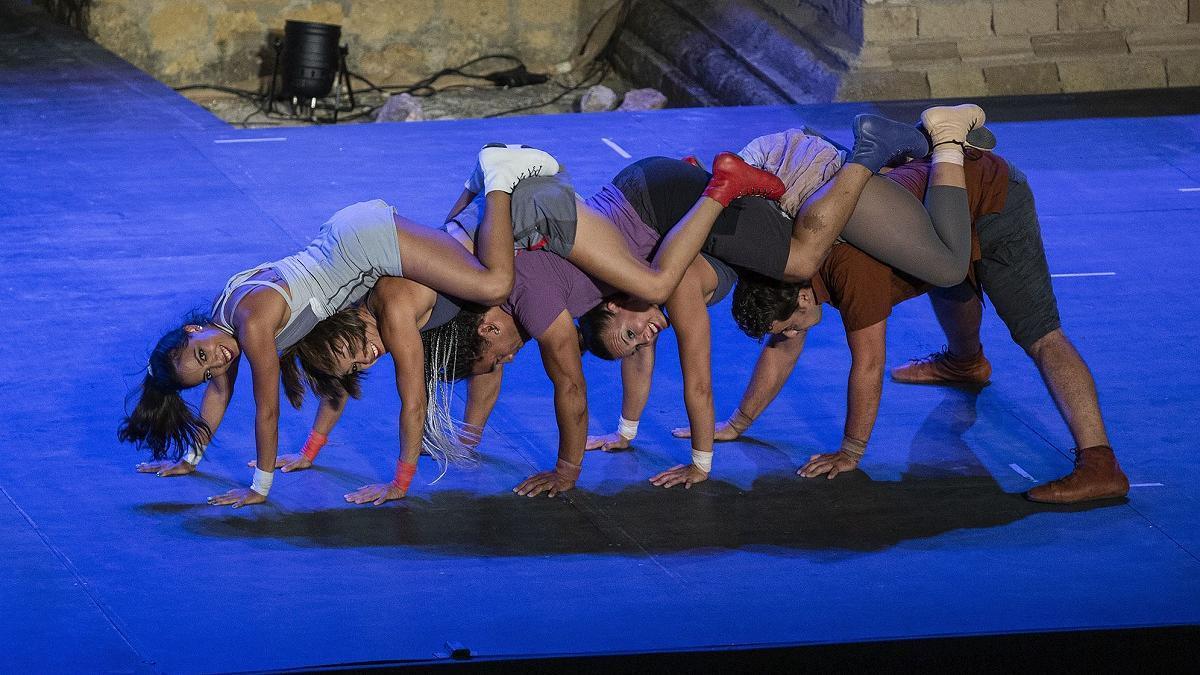 """La compañía cordobesa Alas Circo presenta """"Ahá!Circo"""" en esta edición de la Feria de las Artes Escénicas de Andalucía."""