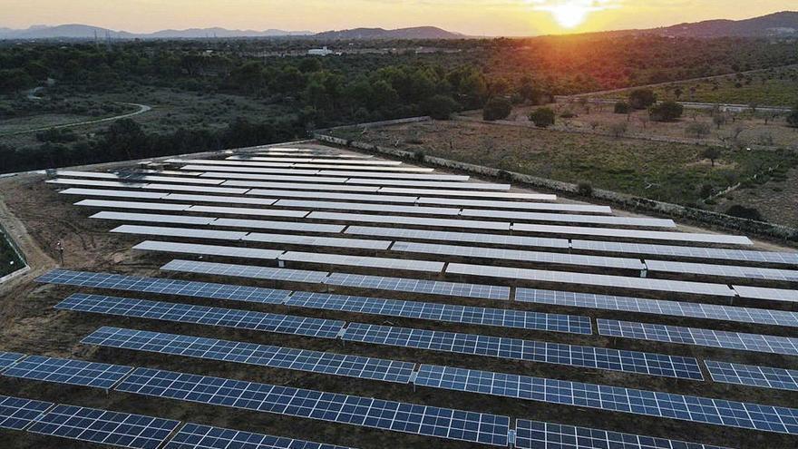 Un parque fotovoltaico pionero en Europa para suministrar  cinco hoteles y un spa en sa Coma