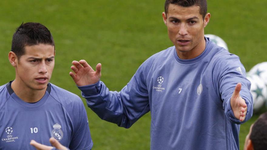 """James Rodríguez: """"¿Mi relación con Zidane? Es apta"""""""