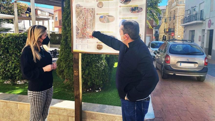 Vall d'Alba pone en valor el arte urbano y las cenias hidráulicas