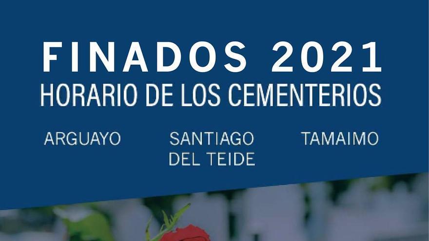Santiago del Teide amplía el horario de los cementerios municipales para la celebración del Día de Todos los Santos y de los Difuntos