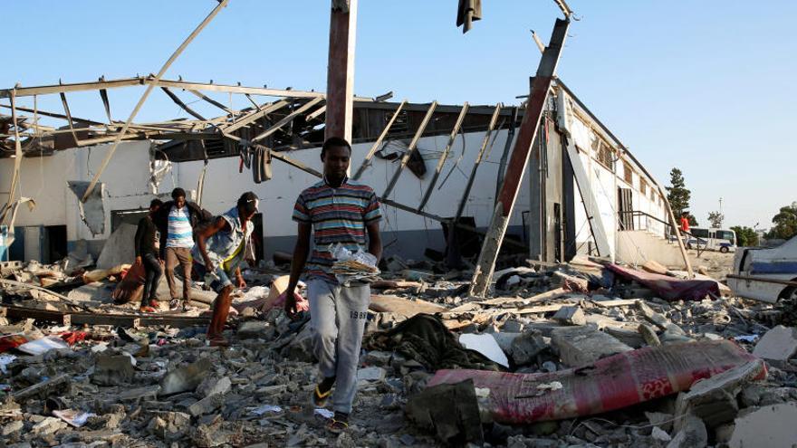 La ONU pide convertir en permanente la tregua en Libia