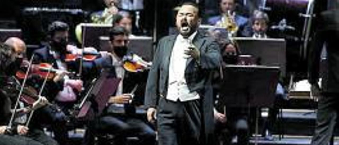 El tenor Javier Camarena, en Oviedo. | Luisma Murias