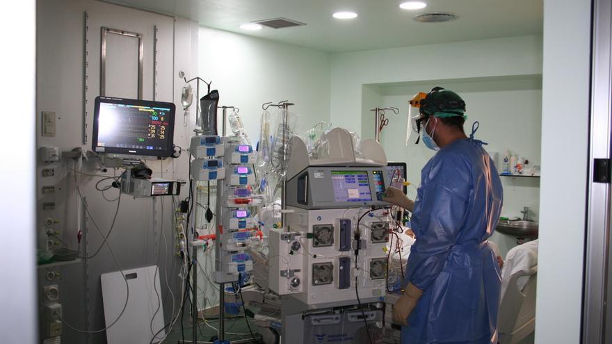 La presión hospitalaria baja en 29 pacientes en las últimas 48 horas