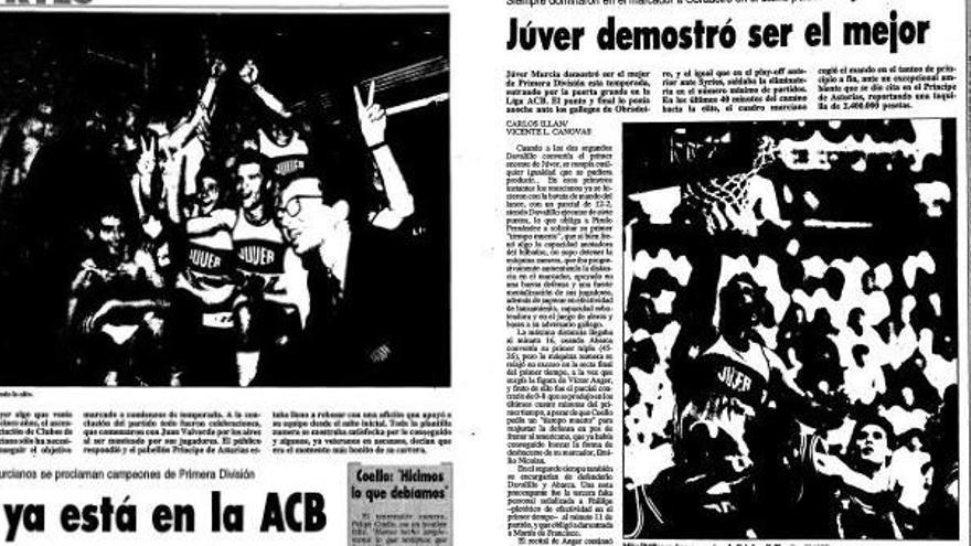 El primer ascenso a la ACB cumple 30 años