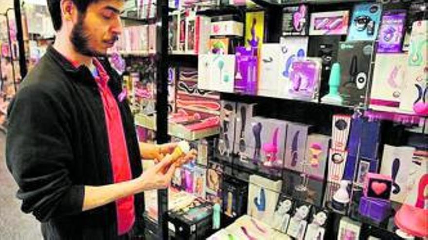 Las restricciones disparan las ventas en los sex shops