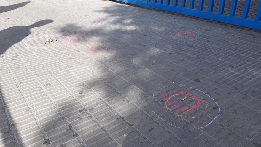 Els centres educatius de Castelló s'uneixen al '#guixdelavergonya'