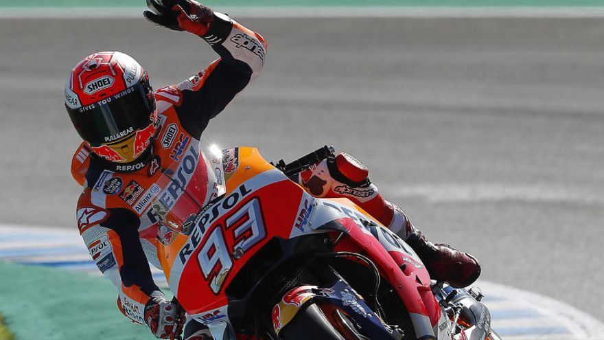 Márquez guanya el pols a Quartararo a San Marino