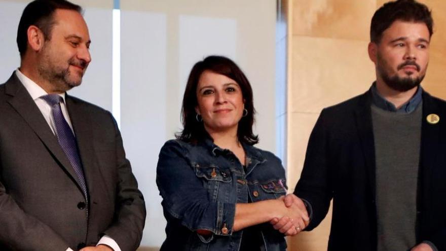 Arranca la reunión PSOE-ERC para la investidura