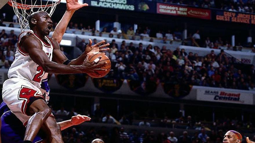 Michael «Air Jordan»,  el más grande en la historia del baloncesto