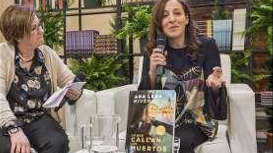 """Ana Lena Rivera habla de """"Lo que callan los muertos"""""""