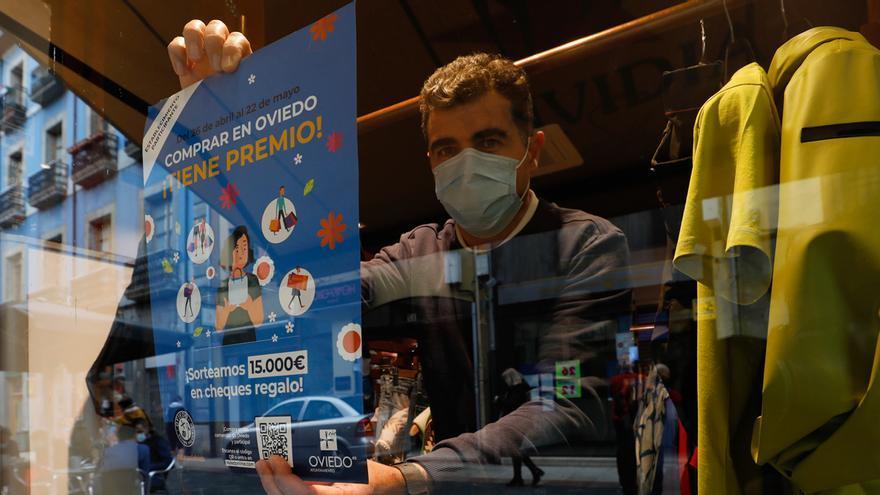 El comercio ovetense resistió el golpe de la primera ola de la crisis del coronavirus