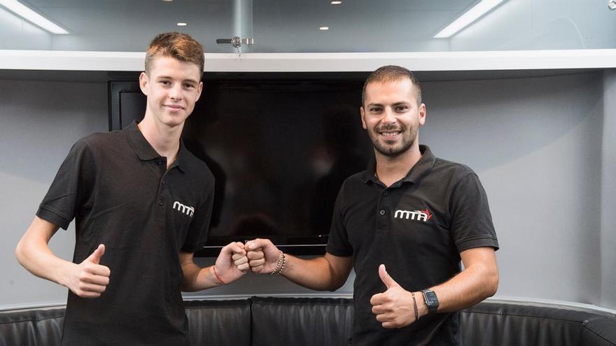 Iván Ortolá da el salto al Mundial de Moto3