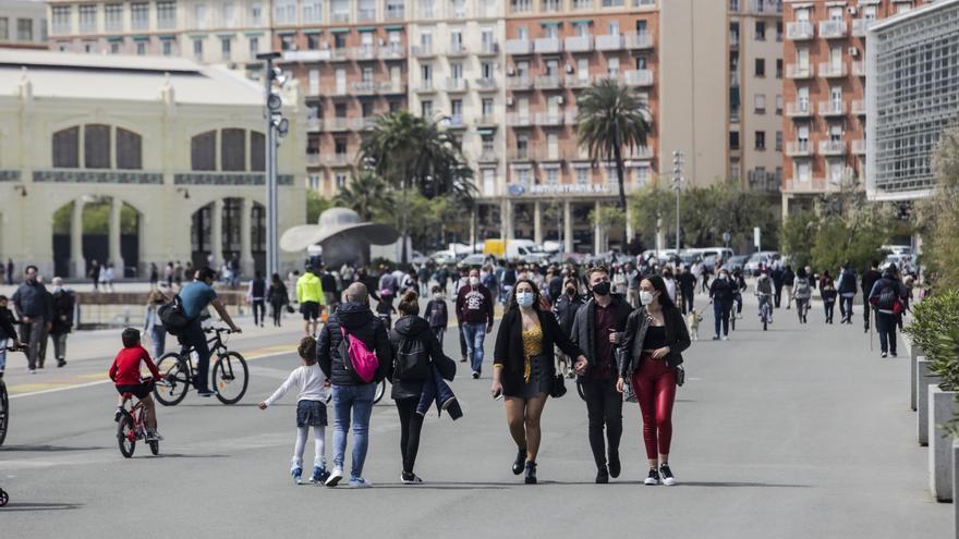 La Comunitat Valenciana vuelve a crecer y supera los 5 millones de personas