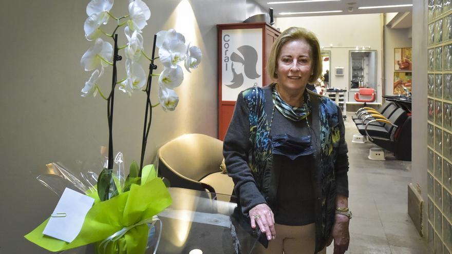 """Carmen Marina Quintana: """"La fidelidad de mis clientas ha sido el mayor premio a mi dedicación"""""""
