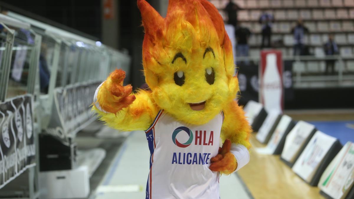 Mascota del HLA Alicante