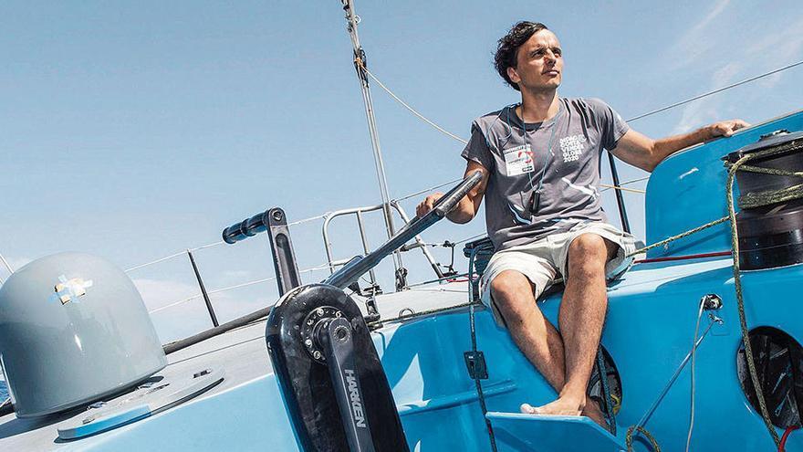 Didac Costa liegt bei der Weltumrundung auf Kurs