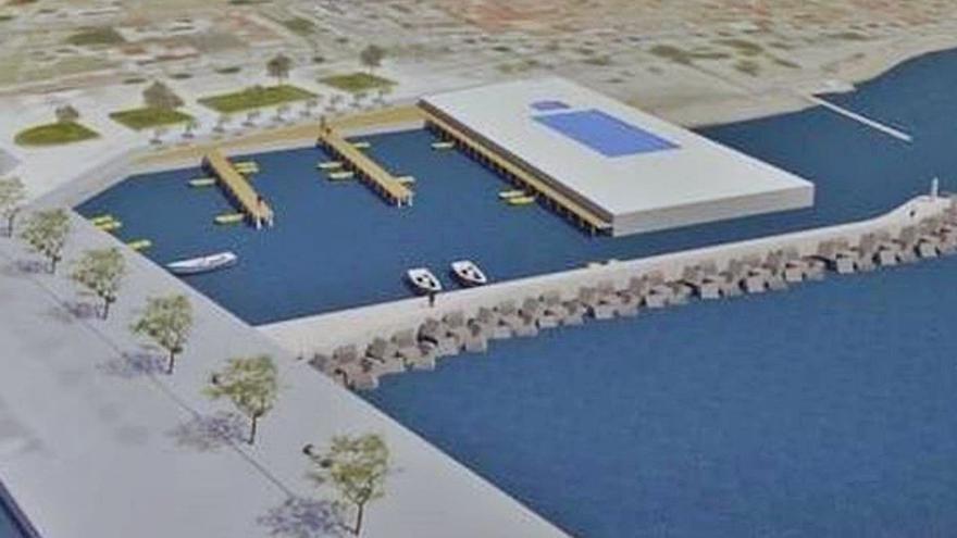 Presentan los proyectos de dos marinas para el amarre de barcas en el Port de Pollença