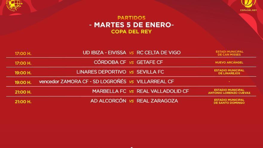 Copa del Rey: El Zamora CF recibirá al Villarreal el 5 de enero, si pasa de fase