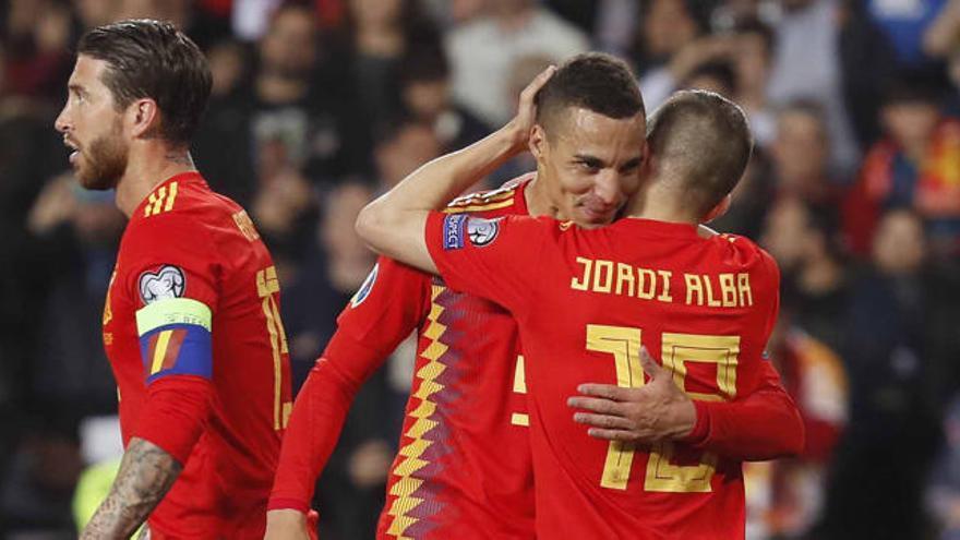 Rodrigo pone el gol en Mestalla
