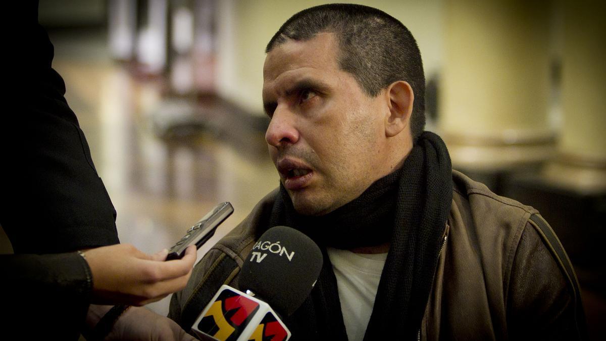 Fernando Cáceres sobrevivió aun  un violento ataque en el que le dispararon en la cara
