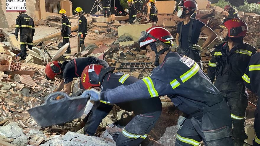 Un grupo de watsap, clave para localizar a vecinos del derrumbe de Peñíscola