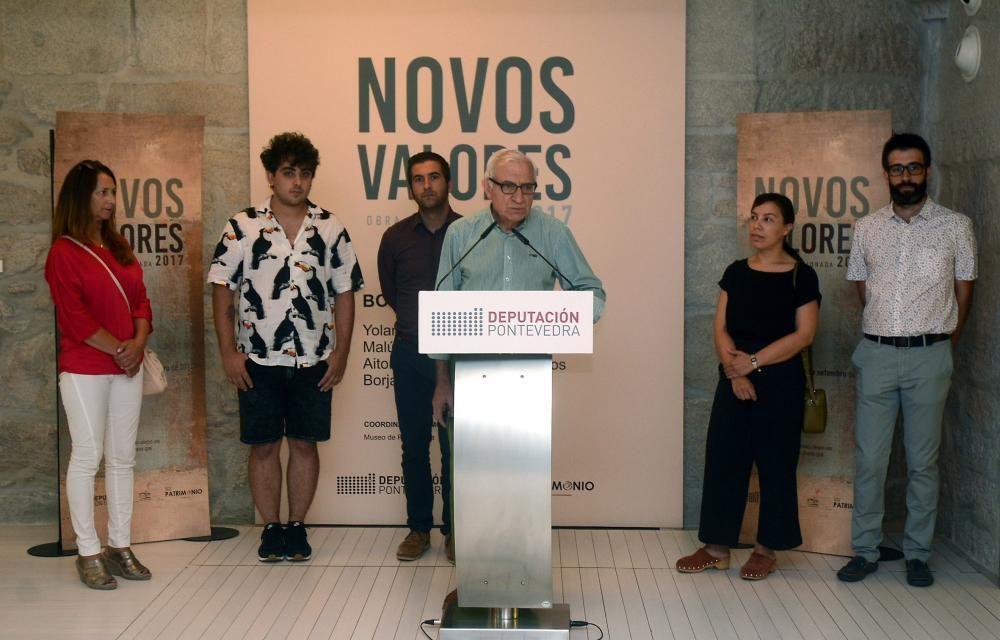 Novos Valores se expone en el Edificio Sarmiento