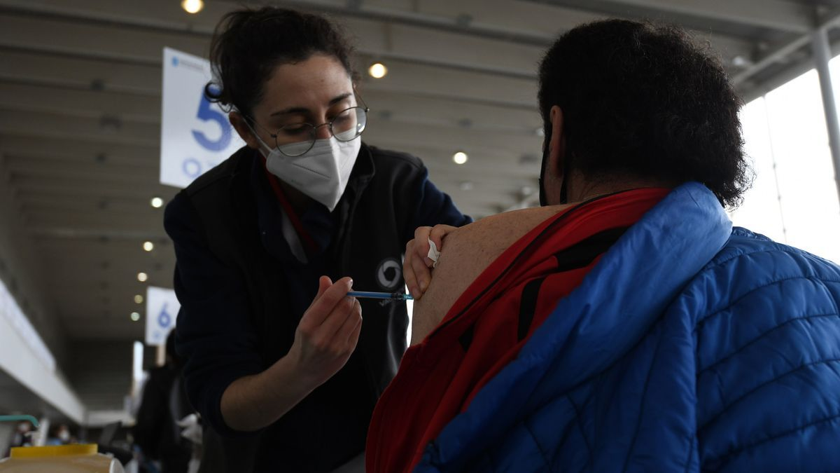 Jornada de vacunación en Pontevedra.