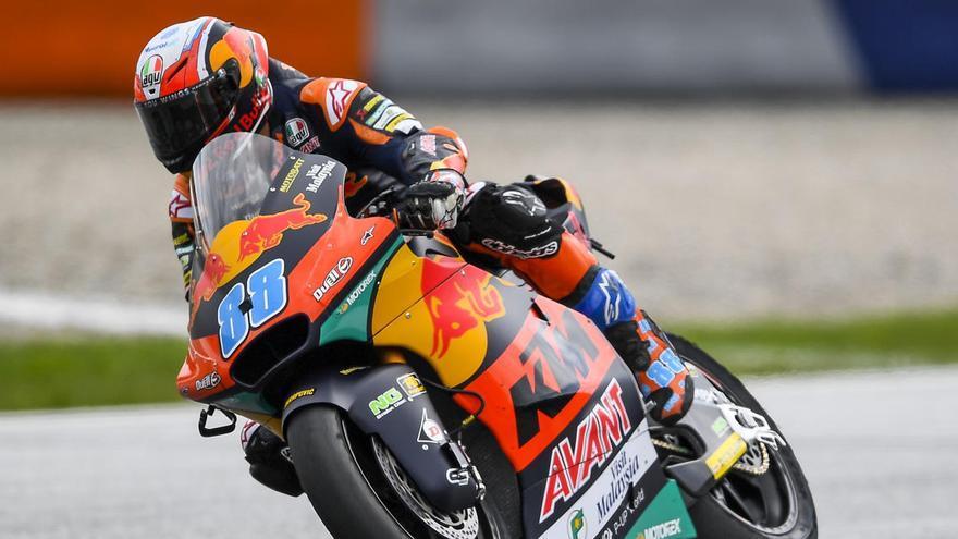 Jorge Martín aconsegueix el seu primer triomf a Moto2 a Àustria