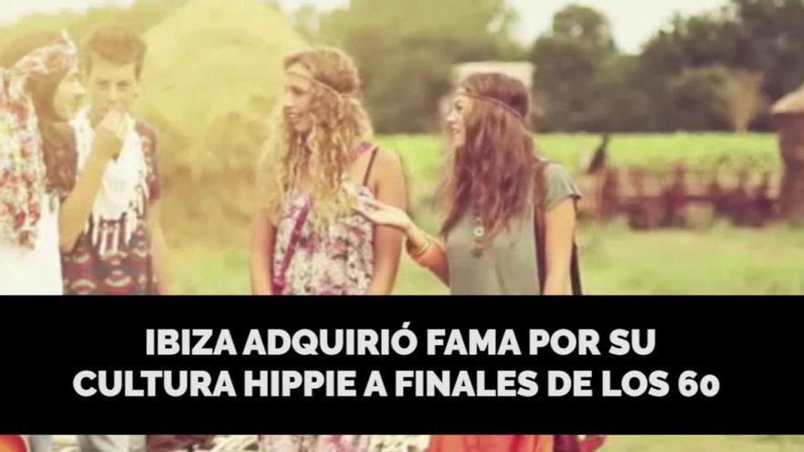 El movimiento hippie en Ibiza