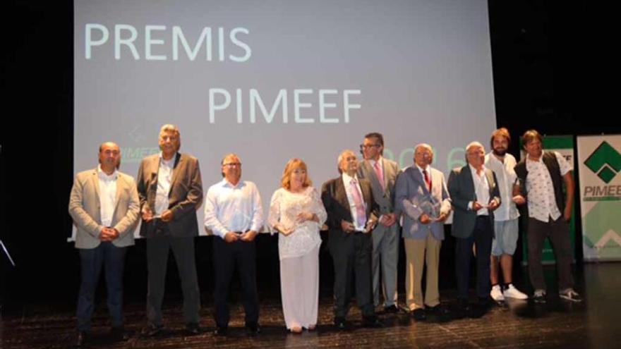 Entrega de premios de la Pimeef