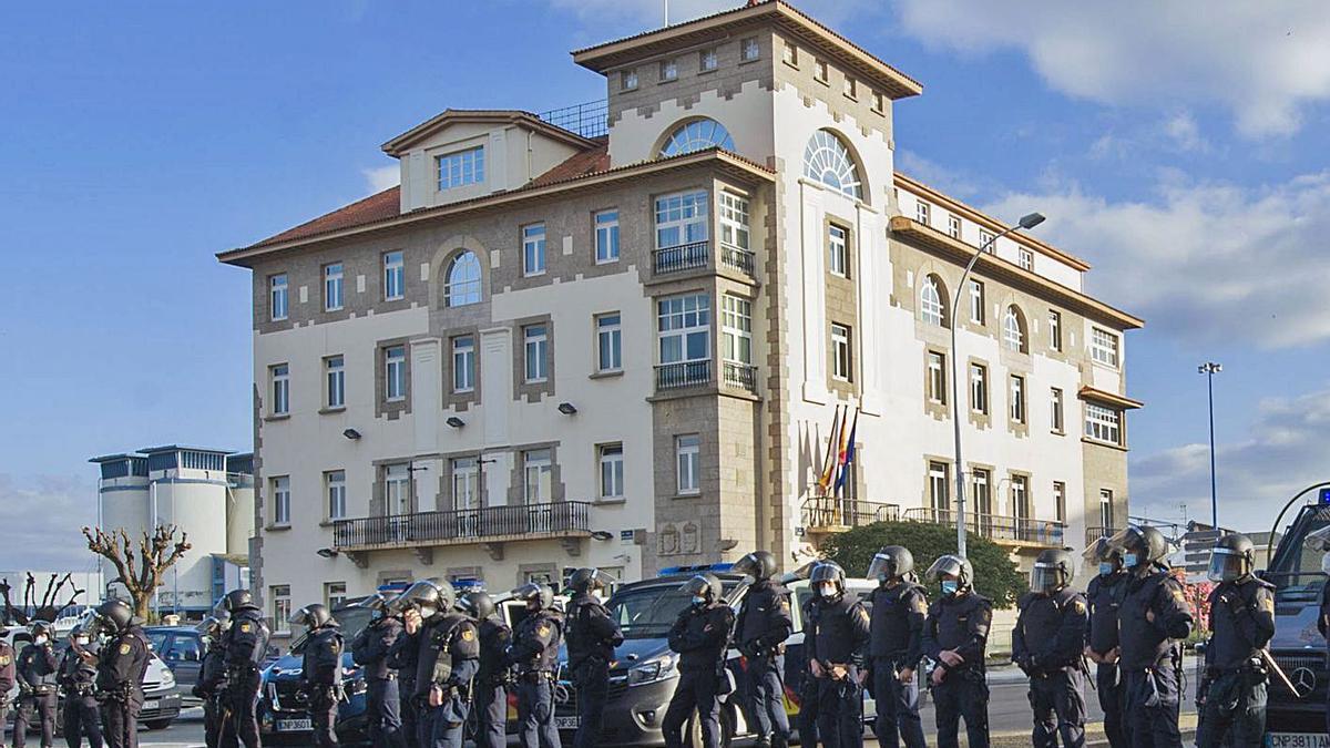 Sede de la Delegación del Gobierno en Galicia, en A Coruña.     // CASTELEIRO / ROLLER AGENCIA