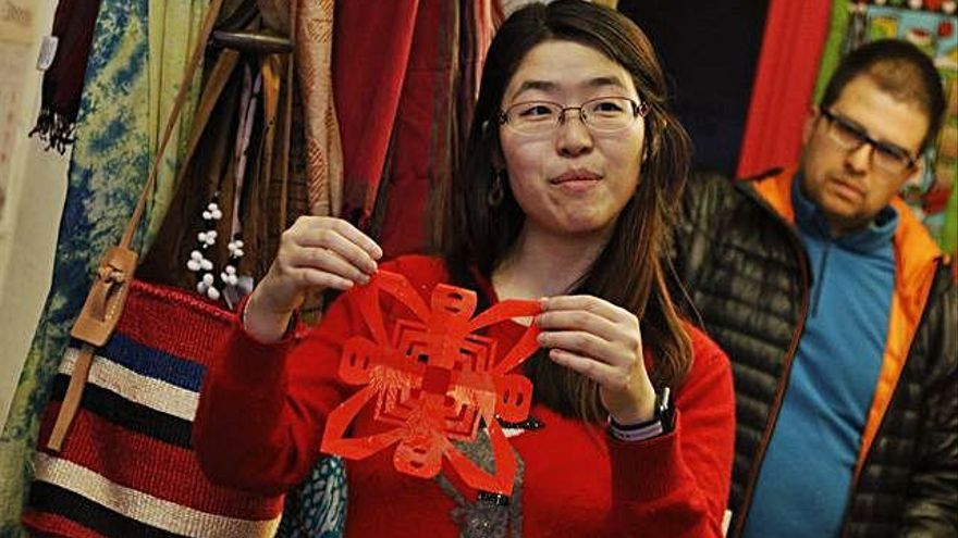 Bienvenida a la zamorana al Año Nuevo Chino