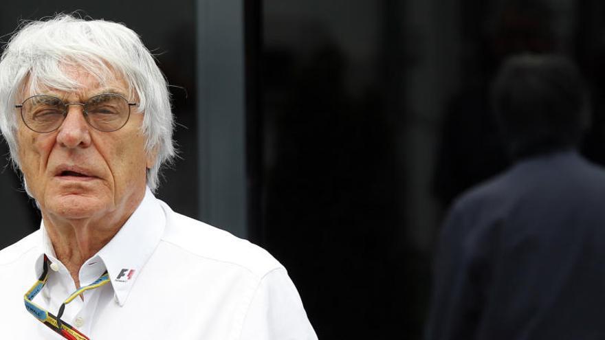 Ecclestone sitúa a Alonso en un futuro equipo McLaren-Renault