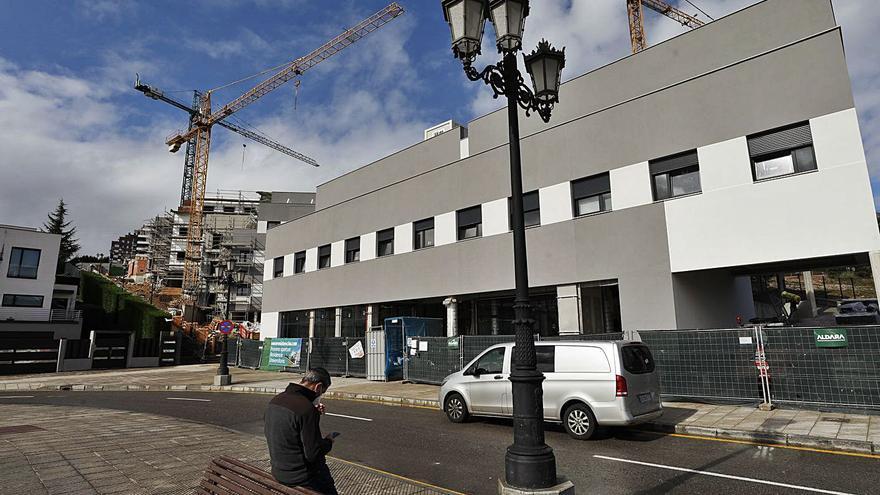 El nuevo Oviedo universitario toma foma: Las residencias de Montecerrao y La Gruta acogerán hasta 527 estudiantes en septiembre
