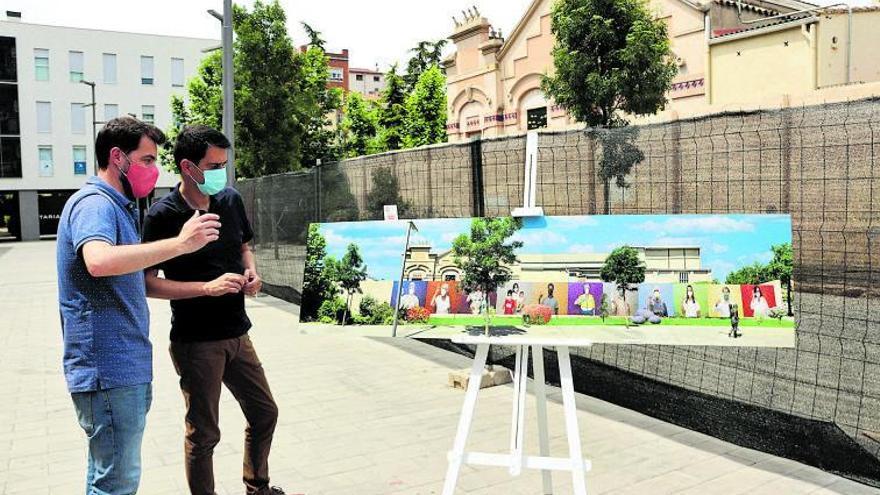 El mosaic de Fontcuberta s'instal·larà el 17 de juliol a la plaça de Cal Font d'Igualada